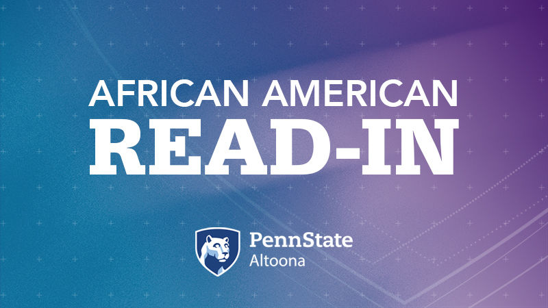 Penn State Altoona | African American Read-In